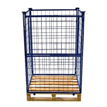 Cage Container steel H1600mm industrial pallet