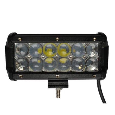 SalesBridges LED Worklamp 36W set of 2 pieces 5D Floodlight Bar CREE Chip 4900lm 6000K IP68