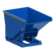 Chip Container Automatic 1600L Tipper Container with Rollover System