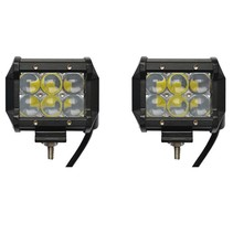 LED Worklamp 18W 5D Floodlight 2  Bar CREE Chip 1260lm 6000K IP68