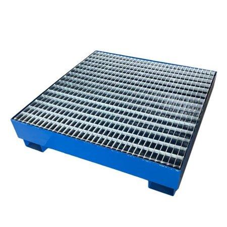 SalesBridges Bac de retention en acier / 4 futs