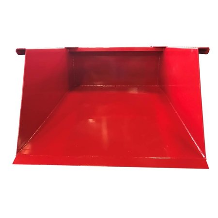 SalesBridges Shovel 500L Scoop Tipping Bucket for Forklift RENTAL