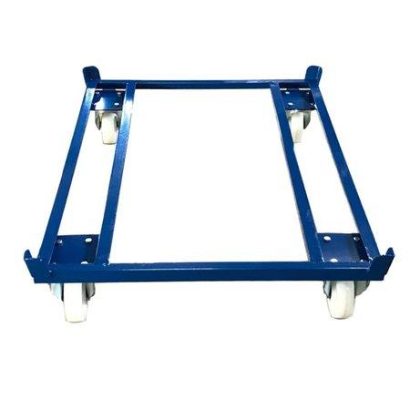 SalesBridges Palletonderwagen 1250kg voor Pallets, Containers en Gaasboxen 1200x800 mm