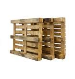 SalesBridges 15 x Industriele Pallets Gebruikt met 7 deklatten Bulk