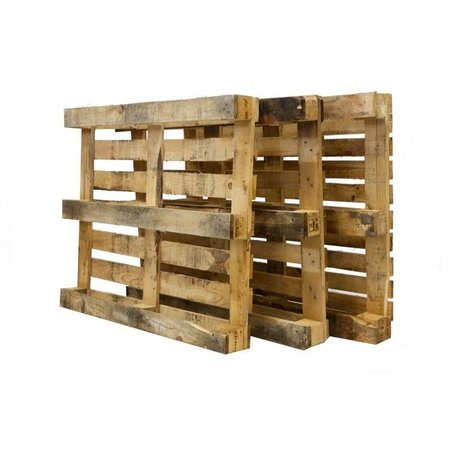 SalesBridges 15 x Industrial Pallets Used with 7 deck slats Bulk
