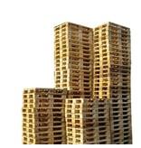 SalesBridges 45 x Industriele Pallets Gebruikt met 7 deklatten Bulk