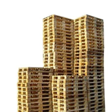 SalesBridges 30 x Industriele Pallets Gebruikt met 7 deklatten Bulk