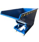 SalesBridges Kantelbak Automatisch 600L Kiepbak met afrolsysteem voor heftruck