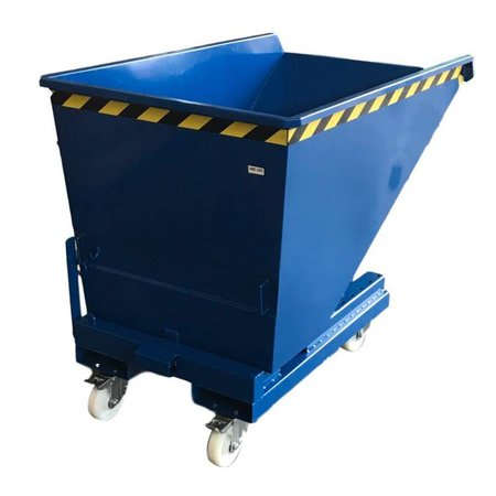 SalesBridges Chip Container Automatic 1100L Tipper Container with Rollover System