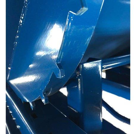 SalesBridges Kantelbak Automatisch 300L Kiepbak met afrolsysteem
