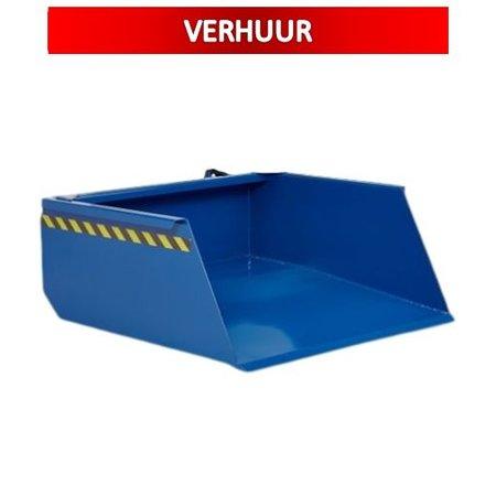 SalesBridges Schepbak 500L Shovel Voor Heftruck VERHUUR