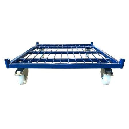 SalesBridges Roll conteneur 2 côtés (H) 1530mm peint RAL 5010