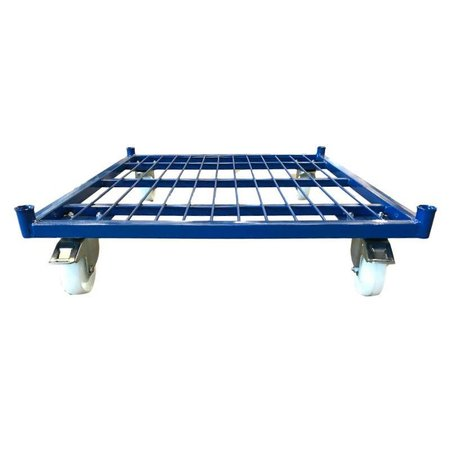 SalesBridges Roll Container with 3 sides demountable (H) 1530 mm powdercoating RAL5010