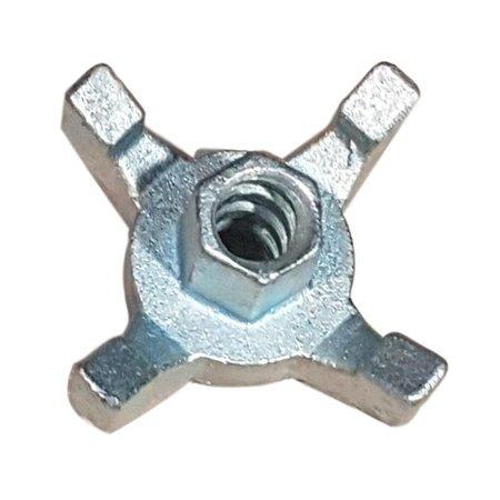 SalesBridges Star-shaped nut Stermoer Bekisting