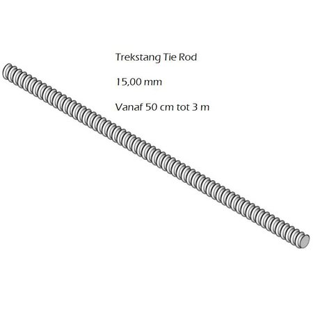 SalesBridges Trekstang 15 mm Bekisting