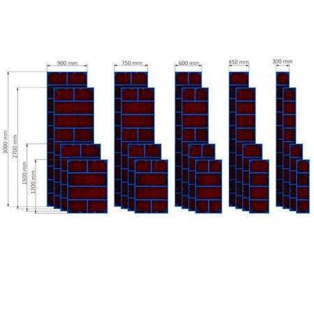 SalesBridges Standaard Paneel Bekisting VARIECO