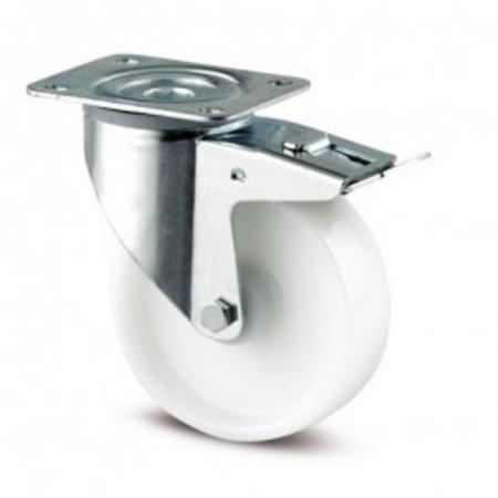 TENTE Wielen BV Wielen set nylon 125  mm diameter TENTE