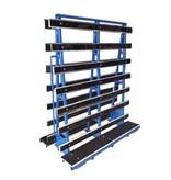 SalesBridges Plates Trolley double side loading
