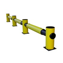 Traffic barrier SINGLE RAIL D-Flexx Charlie