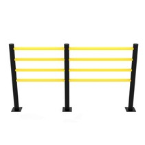 Traffic barrier SAFETY FENCE 4 beams D-Flexx Delta 1200 mm