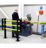 Traffic barrier MACHINE PROTECTIVE FENCE d-flexx FOXTROT