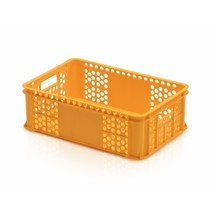 Eurobox for bakery perforated