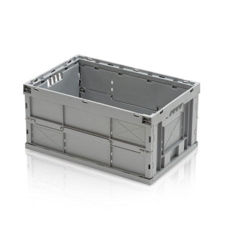 SalesBridges Stapelbakken Inklapbaar Plastic kratten 60x40x30 cm