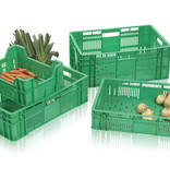 SalesBridges Eurobox for fruits and vegetables perforated 60x40 cm