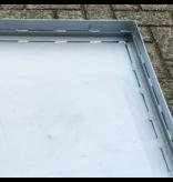 SalesBridges Lekbak van Staal 90x90x7 cm capaciteit 56L