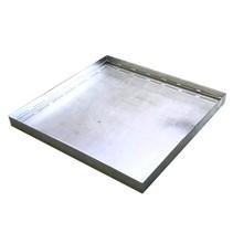 Retention Basin of Steel 90x90x7 cm capacity 56L