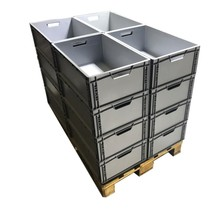 Eurobox Universal 60x40x22 cm open handle Euro container KTL box stackable