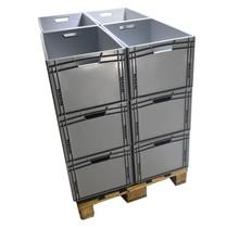 Eurobox Universal 60x40x32 cm open handle Euro container