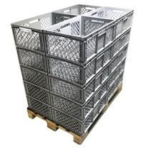 Bac de rangement Perforé 60x40x22 cm  Eurobox plastique