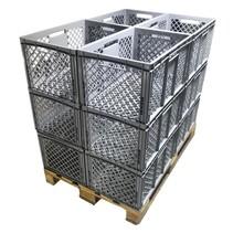 12 x Eurobox Perforated 60x40x32 cm Superdeal