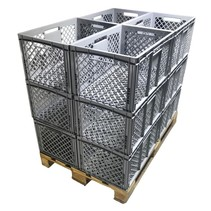 Eurobox Perforated 60x40x32 cm plastic container