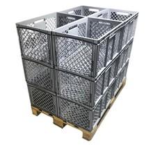 Bac de rangement en plastique Perforé 60x40x32 cm  Eurobox