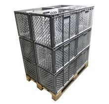Bac de rangement Perforé 60x40x42 cm  conteneur en plastique