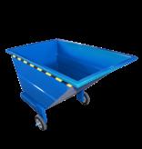 SalesBridges Chariot-benne basculant 800L sur 3 roues usage manuel