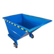 Chip Container 800L with wheels Tipper Container CW-model