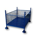 SalesBridges Wire mesh container for storage and transport non-foldable 1500 x 1000 x 1000 mm