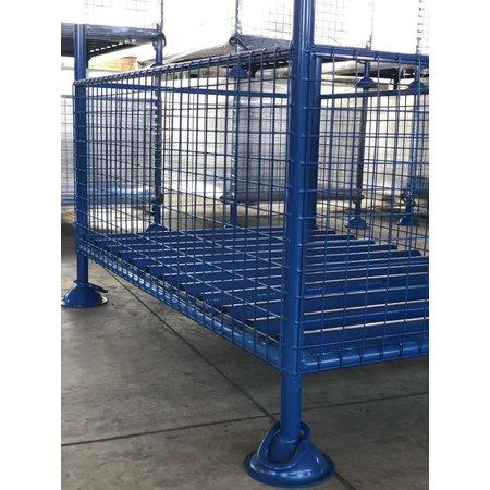 SalesBridges Gaascontainer voor opslag en transport vaste constructie 1500 x 1000 x 1000 mm