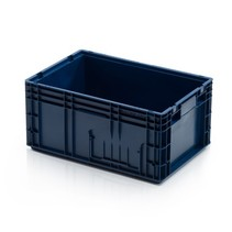 R-KLT Universal 60x40x28 cm Euro container KTL box  with Reinforced Grid Bottom