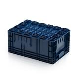 SalesBridges R-KLT Stapelbak 60x40x28 Eurobox KLT Bakken met Verstevigde Rasterbodem