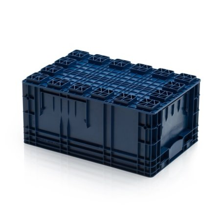SalesBridges R-KLT Universal 60x40x28 cm Euro container KTL box  with Reinforced Grid Bottom