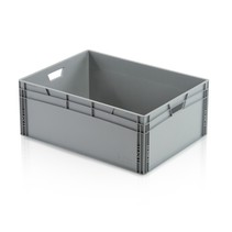 Eurobox Universal 80x60x32 cm open handle Eurocontainer KLT box Superdeal
