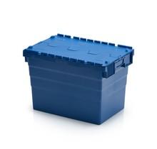 ALC krat 60x40x36,5 cm Eurobox ALC Bakken blauw