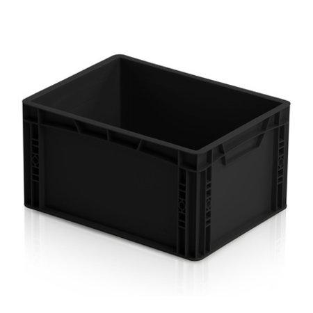 SalesBridges Bac de rangement ESD 40x30 cm Hauteurs au choix conteneur plastique