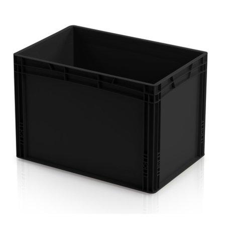 SalesBridges Bac de rangement ESD 60x40 cm Hauteur au choix conteneur en plastique