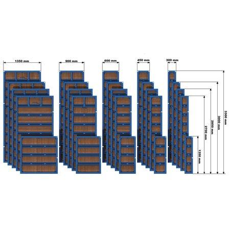 SalesBridges Standard Panel Formwork VARIMAX
