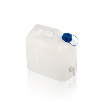 SalesBridges Jerrycan for water and other drinks with tap 10L